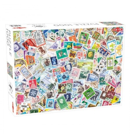 PUZZLE 1000 TONS OF STAMPS...