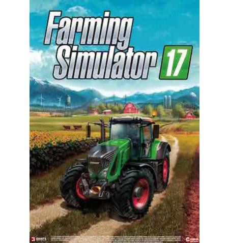 PLAKAT FARMING SIMULATOR 17 A4